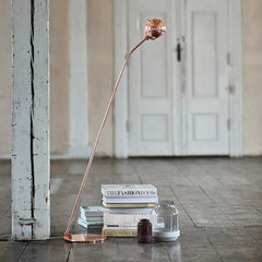 Copper Ball Floor Lamp by Frandsen Lighting