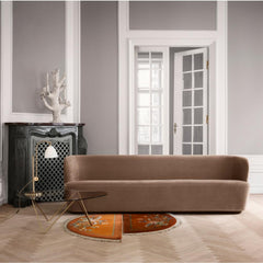 Barba Corsini Pedrera Coffee Table with Bestlight BL1 Table Lamp and Space Copenhagen's Stay Sofa by GUBI