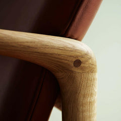 Ole Wanscher Beak Chair joinery detail Carl Hansen and Son