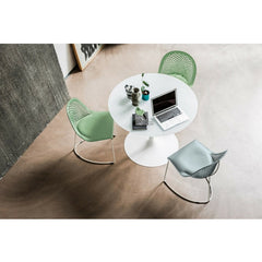 Guapa Side Chair Overday with Table by Franco Poli and Beatriz Sempere for Midj