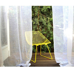 Yellow Bend Bunny Chair Outdoors