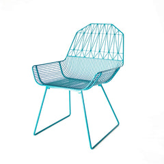 Bend Peacock Blue Farmhouse Chair