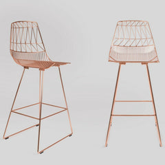 Bend Lucy Barstools Copper