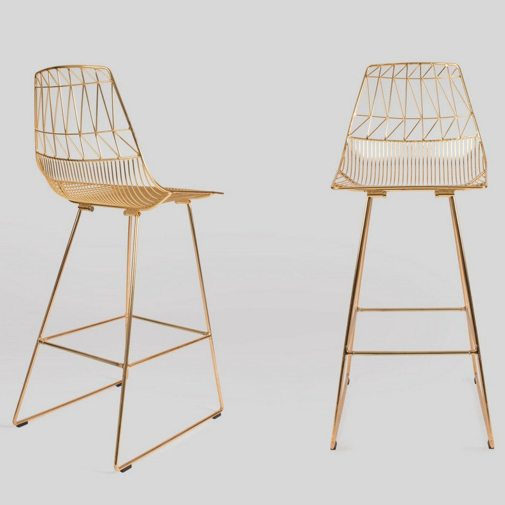 gold counter stools. Bend Lucy Bar And Counter Stool Gold Stools