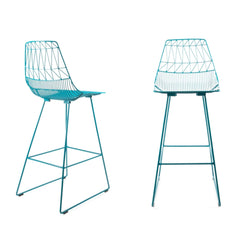 Bend Lucy Barstools Peacock