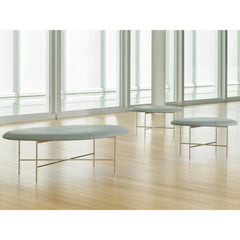 Bernhardt Design Aire Benches by Terry Crews in North Carolina Museum of Art
