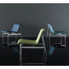 Bernhardt Design Charles Pollock CP2 Lounge Chairs shades of blue of green