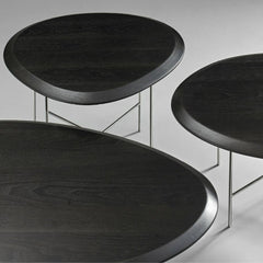 Bernhardt Design Float Tables by Terry Crews Beveled Edge Detail
