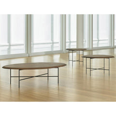 Bernhardt Design Float Tables by Terry Crews in NC Museum of Art