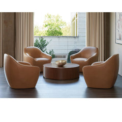 Bernhardt Design Terry Crews Becca Chairs in Hotel Lobby