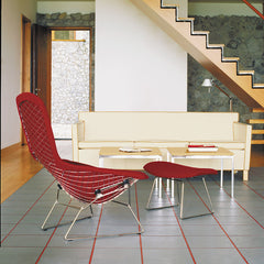 Florence Knoll Coffee Tables in Room with Bertoia Bird Chair and Krefeld Sofa