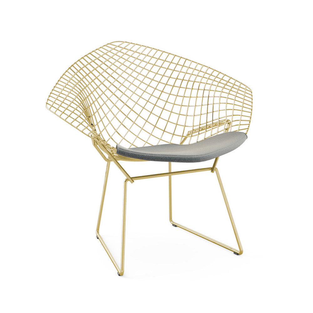 Bertoia Diamond Chair Gold Knoll Modern Furniture