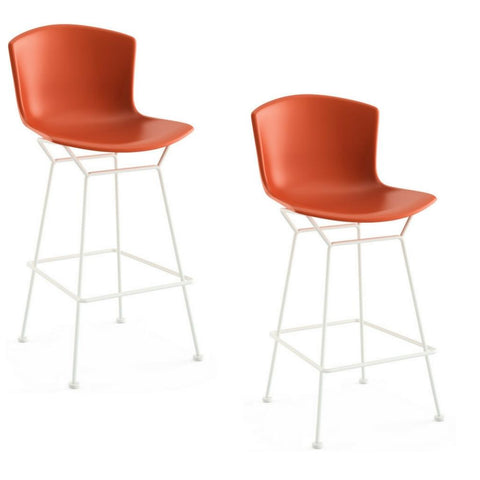 Bertoia Molded Shell Bar & Counter Stools