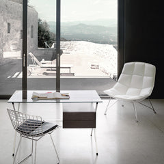 Bertoia Side Chair Alibini Desk Jehs Laub Chair by Knoll in Room in Greece