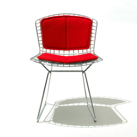 Bertoia Side Chair With Back Pad and Seat Cushion