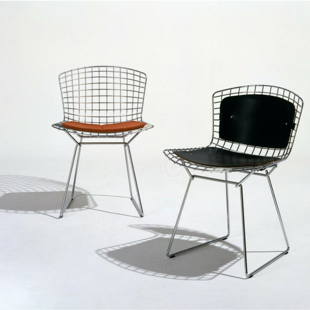 Peachy Knoll Bertoia Side Chair With Back Pad And Seat Cushion Ocoug Best Dining Table And Chair Ideas Images Ocougorg