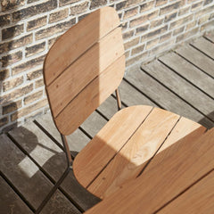 Lilium Teak Dining Chair by BIG for Skagerak