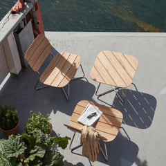 Bjarke Ingels Group Lilium Lounge Chairs and Lounge Table for Skagerak
