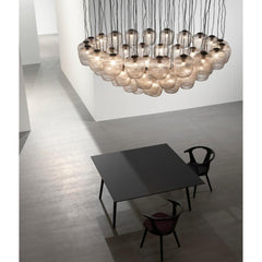 Blown SW3 Pendant Lights Clustered by Samuel Wilkinson for And Tradition Copenhagen