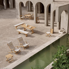 Carl Hansen Børge Mogensen Deck Chair Furniture Series