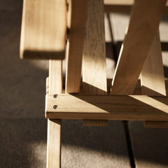 Details of Borge Mogensen BM5568 Deck Chair by Carl Hansen & Son