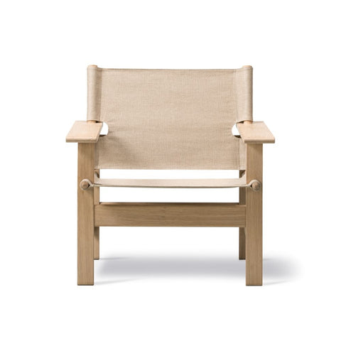 Fredericia Canvas Chair by Børge Mogensen