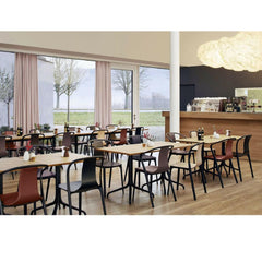 Bouroullec Belleville Chairs in Vitra Haus Cafe