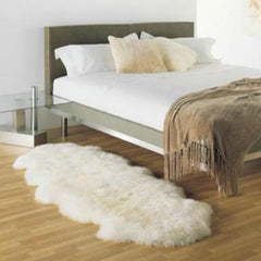 New Zealand Sheepskin Double Long in Room