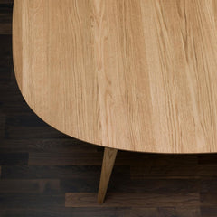 bruunmunch PLAY Lamé Dinner Table Extendable Oak Top Detail