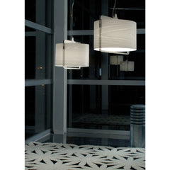 Burkhard Dämmer Icon S Suspension Lights in Ivory in Lobby LZF Lamps