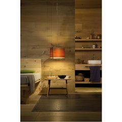 Burkhard Dämmer Icon S Suspension Light Natural Cherry Bedside LZF Lamps