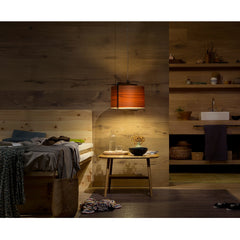 Burkhard Dämmer Icon S Suspension Light Natural Cherry Bedside LZF Lamp