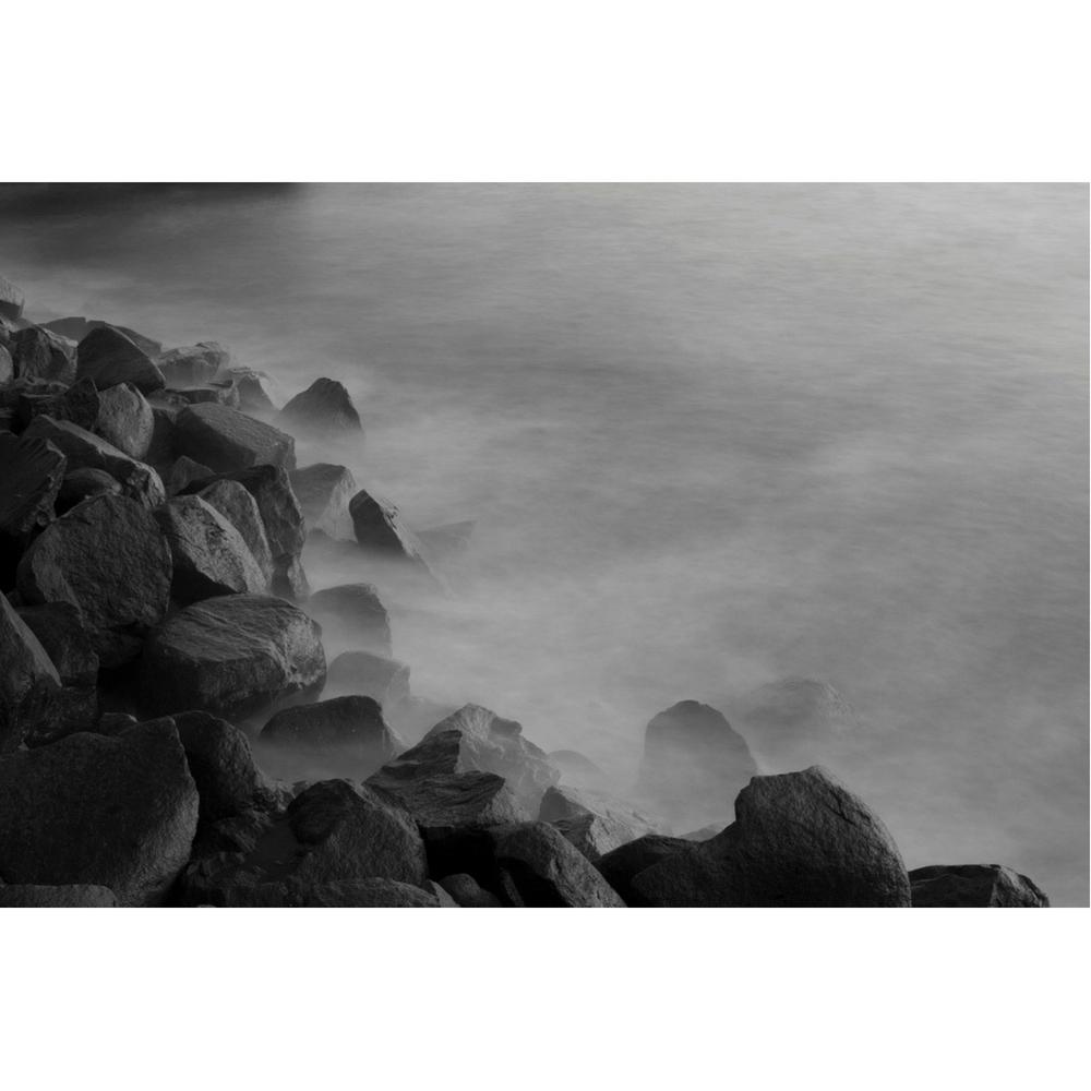 Cameron Pappas Photography Gloom (Rocky Coastline II)