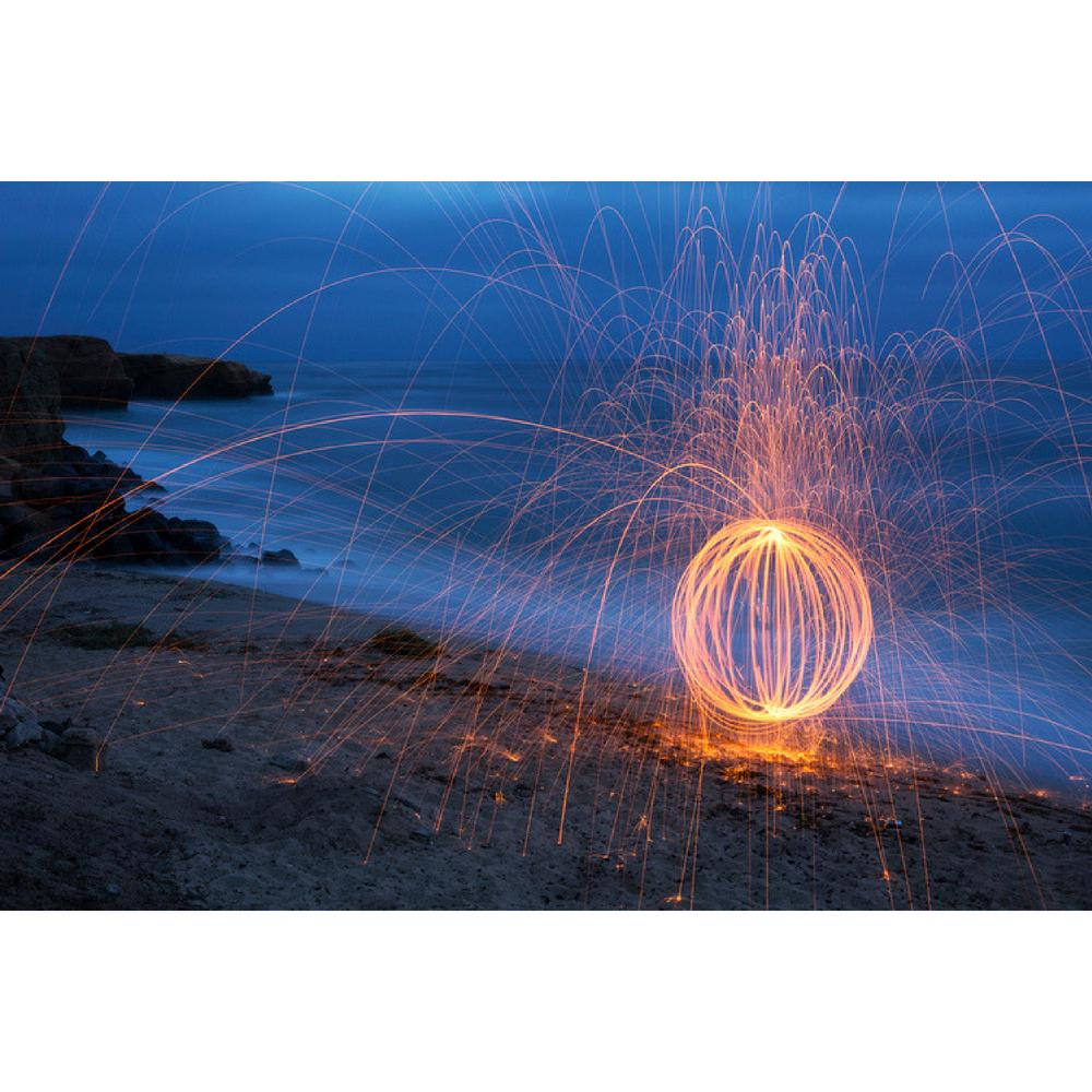 Cameron Pappas Photography Double Exposure Fireball