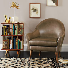 Leather Campbell Chair Precedent Furniture in Room
