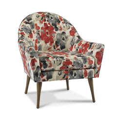 Campbell Chair in Floral Fabric Precedent Furniture