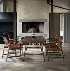 Borge Mogensen Huntsman Chairs and Hunting Table Carl Hansen and Søn