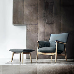 EOOS Embrace Lounge Chair and Ottoman Carl Hansen and Son