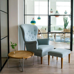 Frits Henningsen Heritage Chair FH419 in Carl Hansen and Son New York Showroom