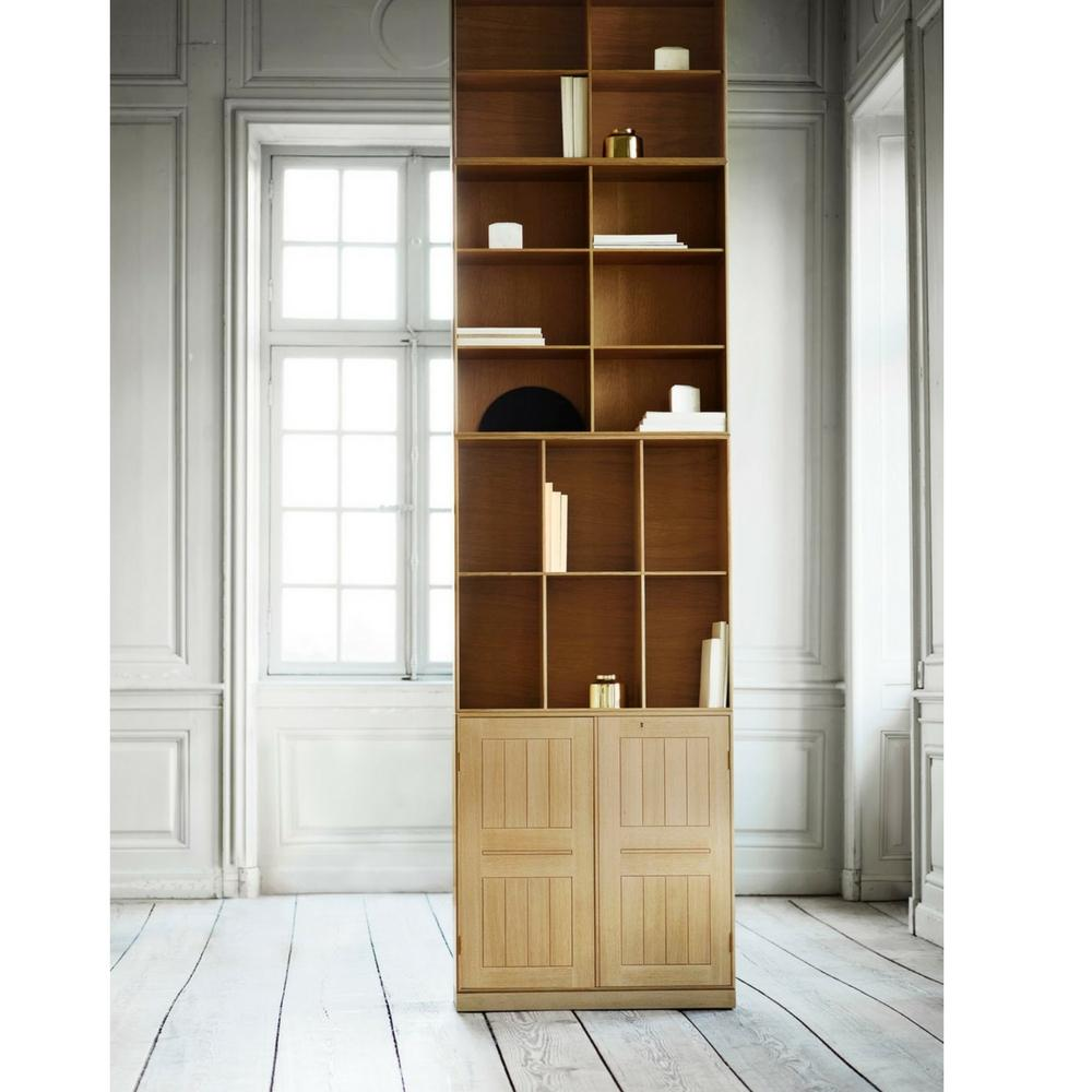 Charmant Mogens Koch Book Case And Cabinet Tall In Room
