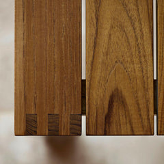Teak Dining Table Joinery Detail BK15 by Bodil Kjaer for Carl Hansen and Son
