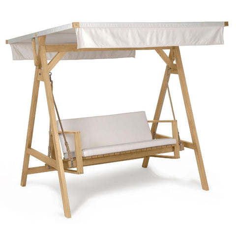 Carl Hansen Bodil Kjaer Teak Outdoor Swing with A-Frame