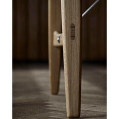 Carl Hansen and Son Borge Mogenson Hunting Table Leg Detail