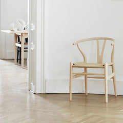 Wegner CH24 Wishbone Chair in situ Carl Hansen and Son