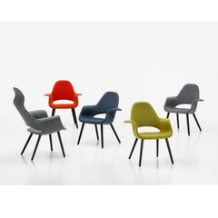 Charles and Ray Eames Organic Highback Chair Collection Vitra