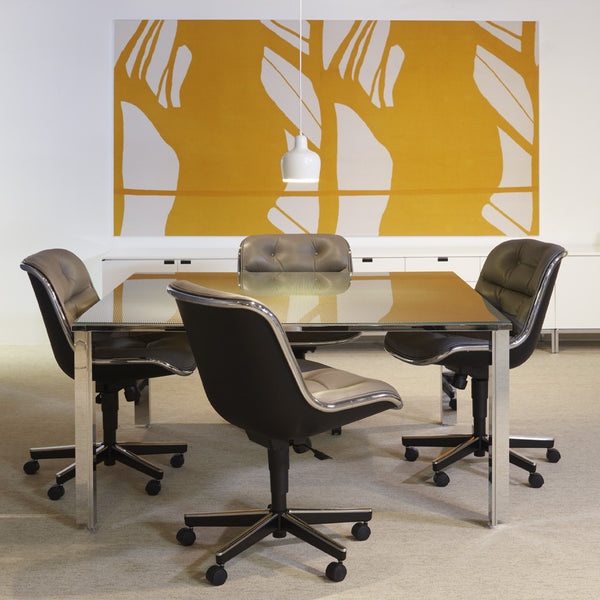 charles pollock executive chair knoll modern furniture palette parlor. Black Bedroom Furniture Sets. Home Design Ideas