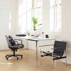 Antenna Design Sparrow Freestanding Light Pollock Sling Chair Pollock Executive Office Chair Florence Knoll Table Knoll