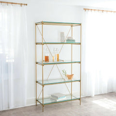 Collins Etagere by Katy Skelton for Charleston Forge in Room
