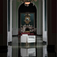 Charleston Forge Springhouse Lounge Chair at the Greenbrier