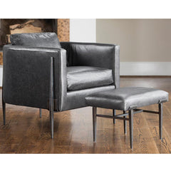 Charleston Forge Springhouse Lounge Chair and Ottoman